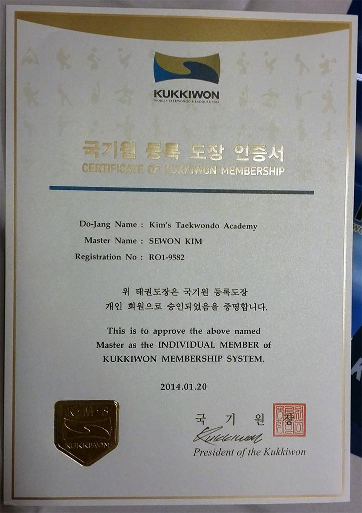 KukkiwonMember